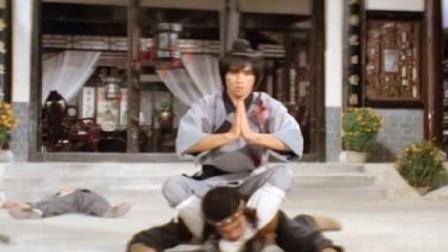 功夫片:,罗汉拳大师独闯虎穴大开戒,手刃恶霸,够猛