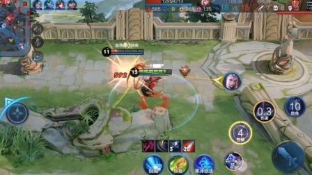 王者:兰陵王残忍手段,对面毫无游戏体验,更别说要赢的话