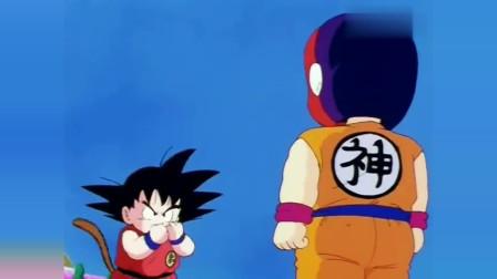 七龙珠:孙悟空被神秘人吊打,当看到脸后整个人都懵了!