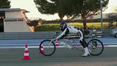 小伙改装后的摩托车,起步都秒杀法拉利