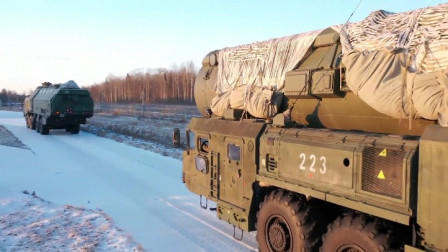 这就是战斗民族,俄罗斯军校学员训练,白杨洲际导弹车当教具