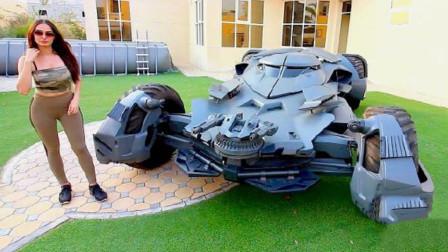 土豪斥巨资爆改兰博基尼,变成蝙蝠侠战车!一脚油门下去惊艳了