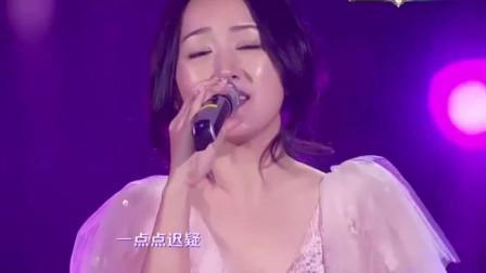 杨钰莹一首《快乐老家》,曲调抒情而忧伤,女神依旧很美!