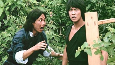师弟出马:香港经典动作猛片,成龙合作师弟元彪,打戏太搞笑!