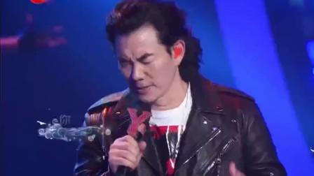 任贤齐刘宇宁合唱《如果云知道》,激情怒音的摇滚版