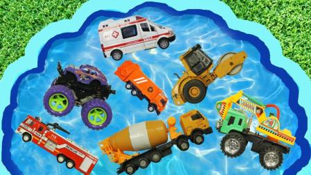 汽车总动员,和玩具小汽车、小动物们一起学习英语和单词