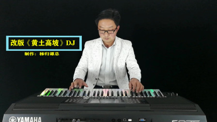 改版《黄土高坡》DJ版电子琴音乐