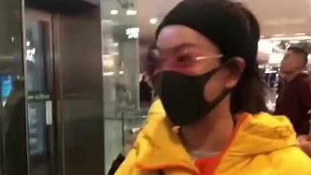 机场遇见的明星,带着帽子和口罩,真认不出来是谁了!