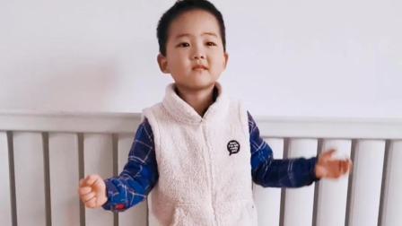 健康操 线上教学 打卡(大宝四岁九个月)