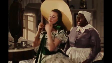 乱世佳人: 斯嘉丽为了穿上晚礼服,可真够拼的