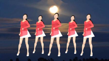 最新网络歌曲《无法逃避的痛》简单32步广场舞