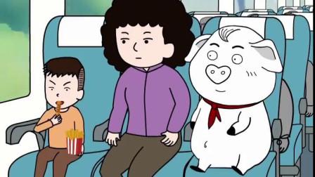 猪屁登:阿姨,我也不太会说话,您别介意!