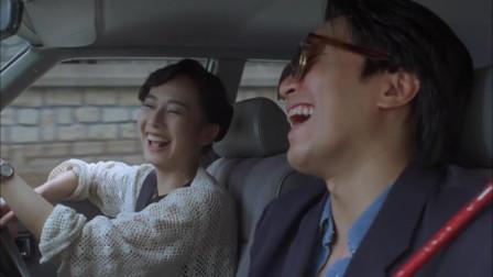 星爷装瞎叫计程车,谁料女司机竟是个小偷,2人斗智斗勇笑喷了