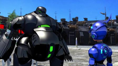 外星人假装,机器战士一猜就知是阴谋,猪队友却智商堪忧