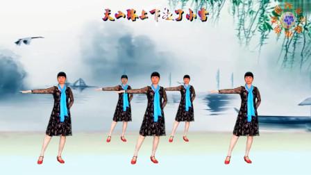 学会美女花样变队形步子舞《蝶恋妃》轻松掌握所有队形广场舞