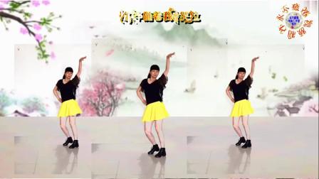 阳光美梅广场舞【酒醉的雨滴】原创单人水兵舞-正面演示-编舞:美梅