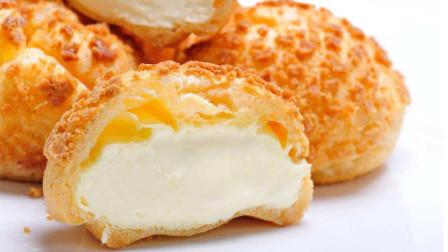 酥皮泡芙最详细的做法,酥酥的外壳,爆浆又流心,好吃得停不下来