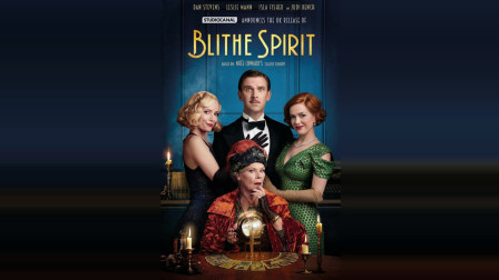 【电影预告4K】爱德华·霍尔执导 朱迪·丹奇出演同名经典戏剧Blithe Spirit 欢乐的精灵