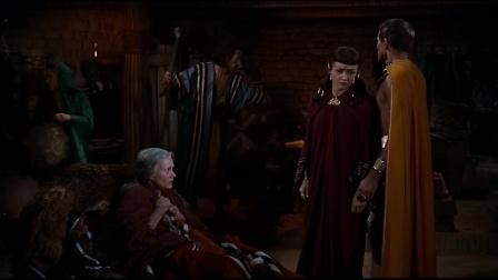 十诫上部:摩西不知什么力量,在左右他的生命,他得遵循指引前行