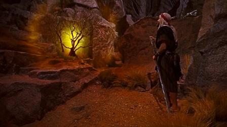 十诫上部;男子发现山上异常,神秘火光会说话,还告诉他这是圣地
