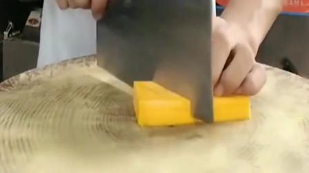南瓜这样切出来的造型,就是这么漂亮,很给力的手法