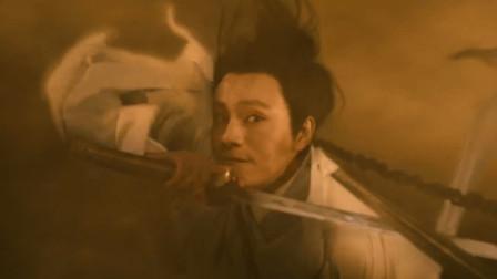 龙卷风里的对决,李连杰再战陈坤,玩的就是刺激