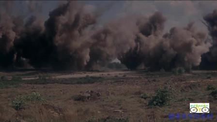 77年巨制《遥远的桥》片段,火炮、炸弹的效果太ZH 非常真实