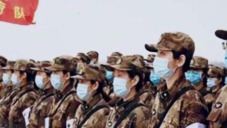 """哪里有需要,哪里就有人民子弟兵!向""""逆行""""军队医护人员致敬!❤️"""