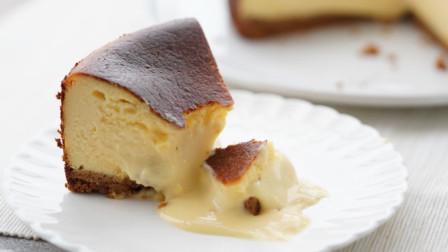 [小团圆果子教室]全世界都在疯!年度最火甜点流心巴斯克芝士蛋糕