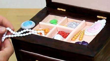 这么完美的珠宝盒原来可以吃!看蛋糕师师如何制作逼真的创意蛋糕