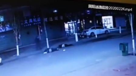 内蒙古男子醉驾撞飞路边母子 肇事逃逸