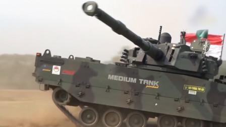 """菲律宾终于有现代坦克了,卡普兰取代""""纸板战车"""",性能稍逊VT5"""