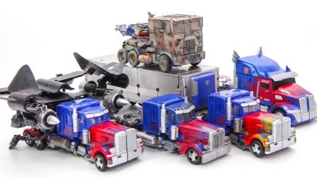 变形金刚电影1 2 3 4 5捷翼逃避之夜擎天柱卡车机器人
