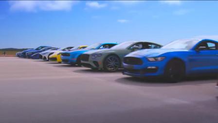 汽车加速之战,这些顶级跑车你都能认出来么?-网上车市