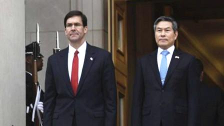 美韩防长爆发公开冲突,场面十分罕见!韩媒:将影响韩美同盟