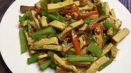 芹菜香干这么做,营养丰富,好吃下饭,做法超简单