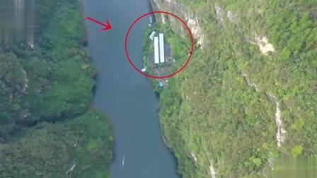 贵州大山里发现一户人家,隐居在深山悬崖下养鱼,人间仙境
