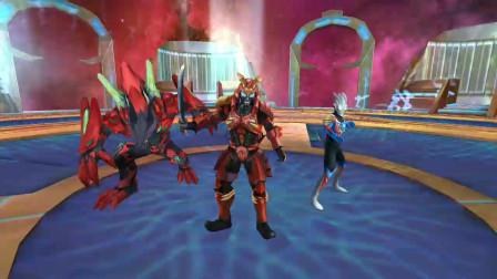 奥特曼传奇英雄:魔王怪兽用黑暗魔剑能秒杀无视攻击的魔王怪兽吗