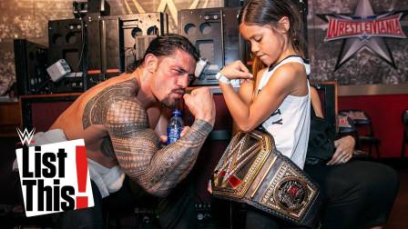 WWE罗曼大帝最强招式 飞冲肩超人飞拳
