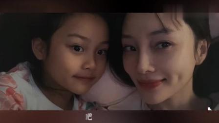 """李小璐分享和女儿""""最幸福时刻"""",甜馨躺妈妈被窝还亲吻超温馨"""