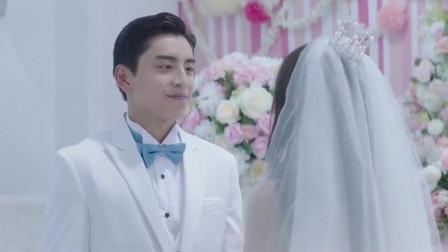总裁灰姑娘终于大婚,甜蜜拥吻在一起,太甜了