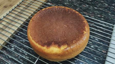 用电饭锅做蛋糕真的靠谱?煮了40分钟,打开的一刻直接被惊喜到了