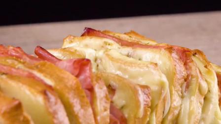 创意美食:3种不一样做法的白吐司,满满果酱和奶油看着太有食欲了