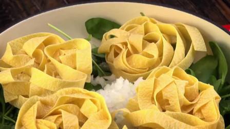 创意美食:在家也能做的意大利面,满满的食材让人充满幸福感