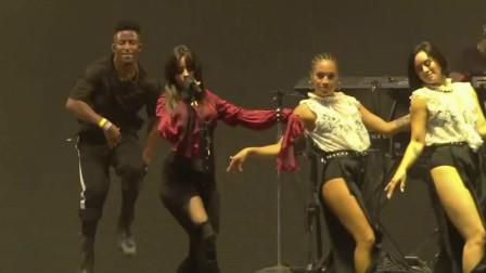卡妹Camila Cabello热单《Havana》现场版,感受哈瓦那的热情