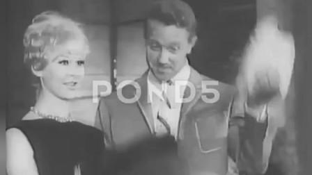 睁眼看世界 1961年意大利的时装秀  看看意大利的型男美女