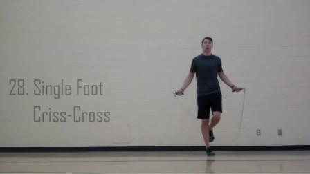 怎么样让跳绳变得更有趣,更能全面的锻炼身体各项素质,五十种跳绳方法(下),绝对值得收藏