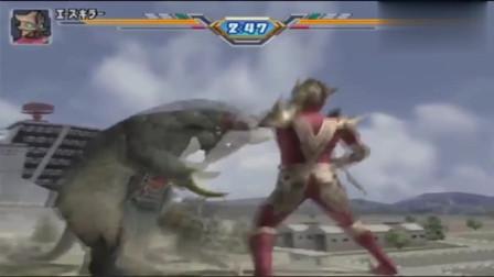 奥特曼:超兽艾斯杀手也会奥特火花,根本不担心怪兽贝鸟