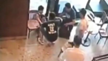 男子咖啡馆遭人残忍围殴,网传中38刀身亡?民警揭秘真相