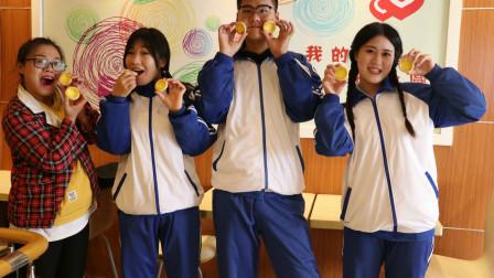 童年:蛋糕店1:如花老师请同学吃蛋挞,蛋挞又酥又软,田田吃了还想吃